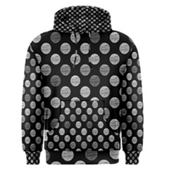 Death Star Polka Dots In Greyscale Men s Pullover Hoodie