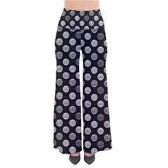 Death Star Polka Dots In Greyscale Pants by fashionnarwhal