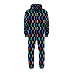 Death Star Polka Dots In Multicolour Hooded Jumpsuit (kids) by fashionnarwhal