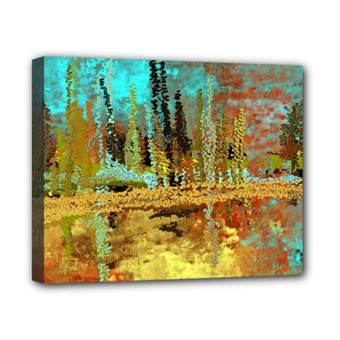 Autumn Landscape Impressionistic Design Canvas 10  X 8  by theunrulyartist