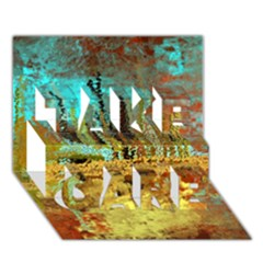 Autumn Landscape Impressionistic Design Take Care 3d Greeting Card (7x5) by theunrulyartist