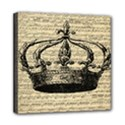 Vintage Music Sheet Crown Song Mini Canvas 8  x 8  View1