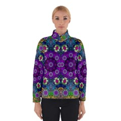 Colors And Flowers In A Mandala Winterwear