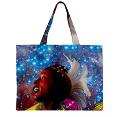 African Star Dreamer Mini Tote Bag by icarusismartdesigns