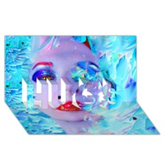 Swimming Into The Blue Hugs 3d Greeting Card (8x4) by icarusismartdesigns