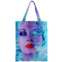 Swimming Into The Blue Classic Tote Bag by icarusismartdesigns