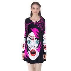 Vampire Gypsy Princess Flare Dress