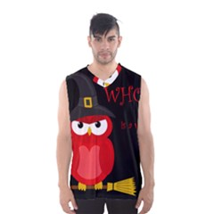 Who Is A Witch?   Red Men s Basketball Tank Top by Valentinaart