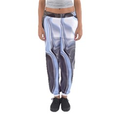 Metallic And Chrome Women s Jogger Sweatpants by theunrulyartist