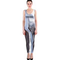 Metallic And Chrome Onepiece Catsuit by theunrulyartist