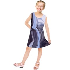 Metallic And Chrome Kids  Tunic Dress