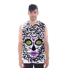 BAT LADY SUGAR SKULL Men s Basketball Tank Top by burpdesignsA