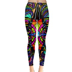Planetary Vortex - Classic Winter Leggings by tealswan
