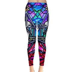Merkabah   Classic Winter Leggings by tealswan