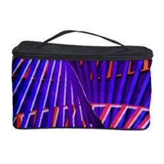 Colorful Rainbow Helix Cosmetic Storage Case by designworld65