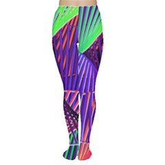Colorful Rainbow Helix Women s Tights by designworld65