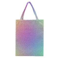 Rainbow Colorful Grid Classic Tote Bag by designworld65
