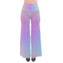 Rainbow Colorful Grid Pants by designworld65