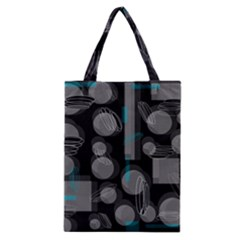 Come Down   Blue Classic Tote Bag by Valentinaart