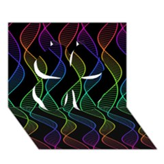 Rainbow Helix Black Clover 3d Greeting Card (7x5) by designworld65