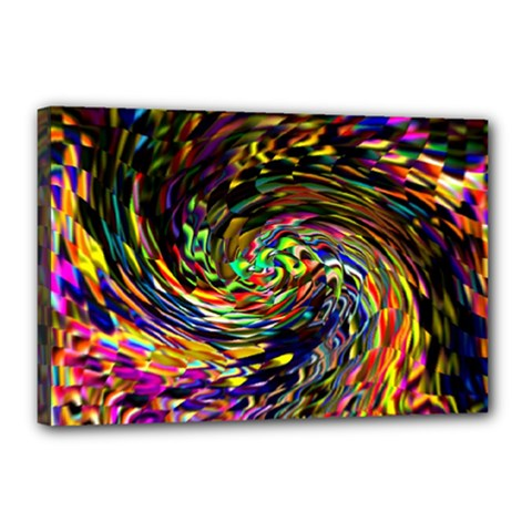 Abstract Art, Colorful, Texture Canvas 18  X 12