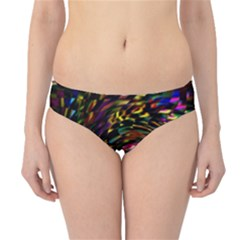 Abstract Art, Colorful, Texture Hipster Bikini Bottoms by AnjaniArt