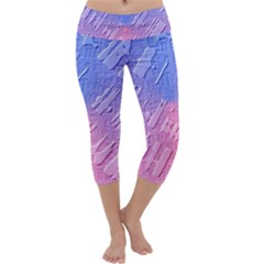 Baby Pattern Capri Yoga Leggings