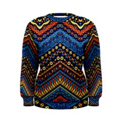 Cute Hand Drawn Ethnic Pattern Women s Sweatshirt