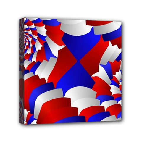 Happy Memorial Day Mini Canvas 6  X 6  by AnjaniArt