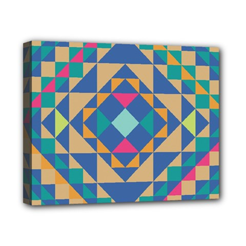 Tiling Pattern Canvas 10  X 8  by AnjaniArt