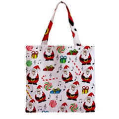 Xmas Song Grocery Tote Bag by Valentinaart