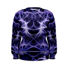 Purple Galaxy Women s Sweatshirt