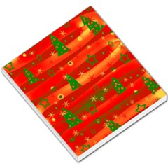 Christmas Magic Small Memo Pads by Valentinaart