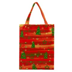 Christmas Magic Classic Tote Bag by Valentinaart