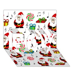 Xmas Song Boy 3d Greeting Card (7x5) by Valentinaart