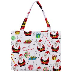 Xmas Song Mini Tote Bag by Valentinaart