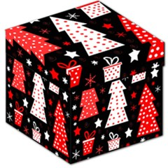 Red Playful Xmas Storage Stool 12
