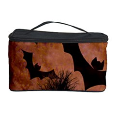 Halloween Card Scrapbook Page Cosmetic Storage Case by Zeze