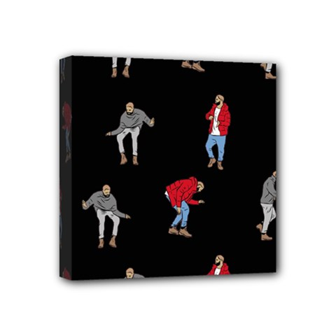 Drake Ugly Holiday Christmas Mini Canvas 4  X 4  by Onesevenart