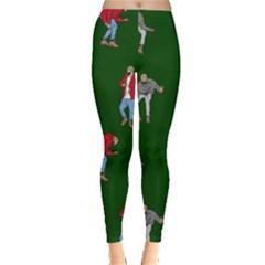 Drake Ugly Holiday Christmas 2 Leggings  by Onesevenart