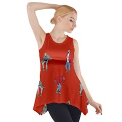 Drake Ugly Holiday Christmas   Side Drop Tank Tunic by Onesevenart