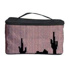 I Juan To Believe Ugly Holiday Christmas Black Background Cosmetic Storage Case by Onesevenart