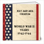 WWII - 8x8 Photo Book (20 pages)
