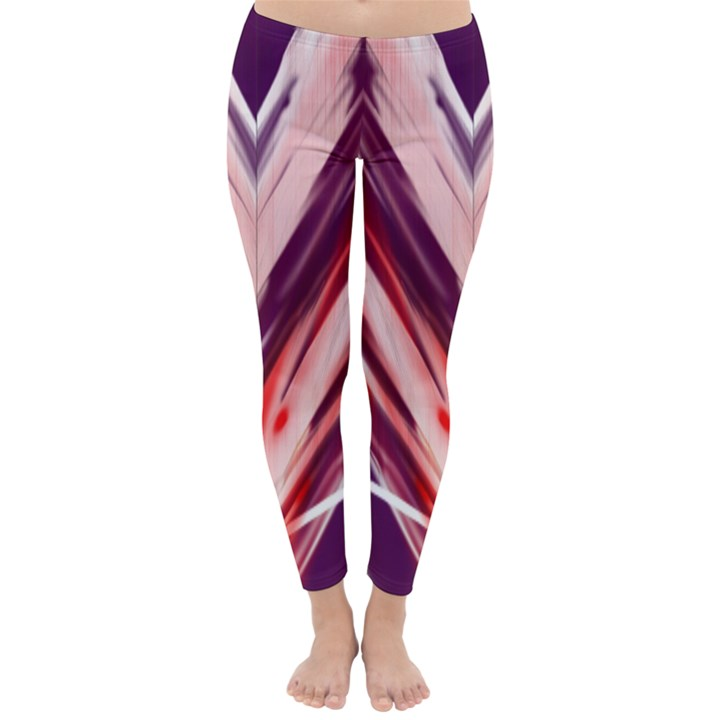 purple Classic Winter Leggings
