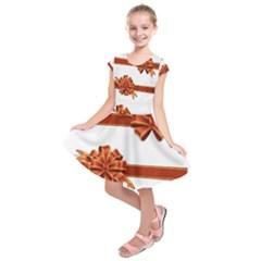 Gift Ribbons Kids  Short Sleeve Dress