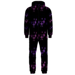 Purple elegant Xmas Hooded Jumpsuit (Men)  by Valentinaart