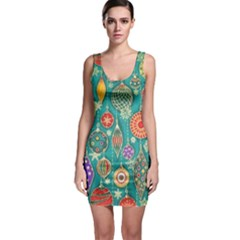 Ornaments Homemade Christmas Ornament Crafts Sleeveless Bodycon Dress by AnjaniArt
