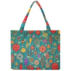 Ornaments Homemade Christmas Ornament Crafts Mini Tote Bag by AnjaniArt