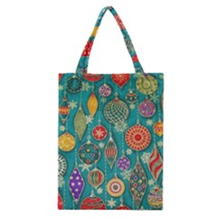 Ornaments Homemade Christmas Ornament Crafts Classic Tote Bag by AnjaniArt