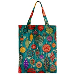 Ornaments Homemade Christmas Ornament Crafts Zipper Classic Tote Bag by AnjaniArt